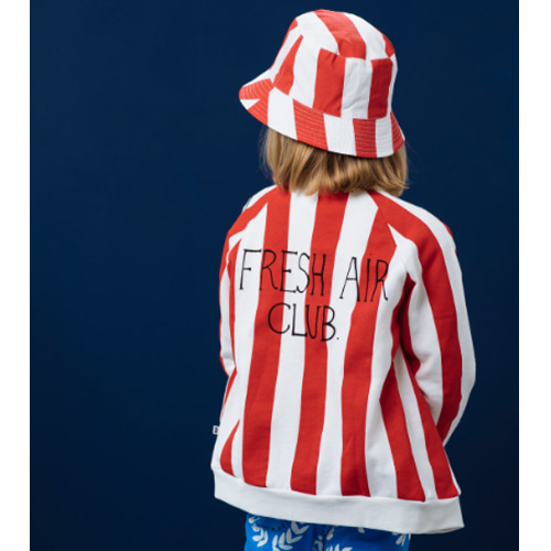 zip jacket-et/deck chair stripe