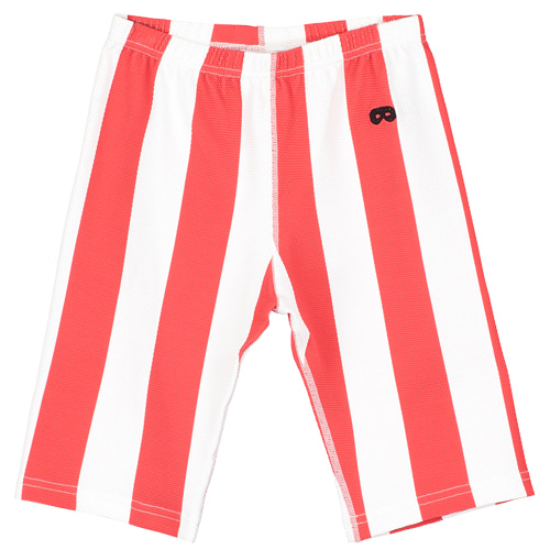 swim cycle shorts-et/deck chair stripe